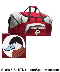 Colorblock Sport Duffle Design Zoom